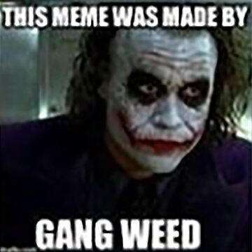 Gang weed rise up We live in a society by youngweezing