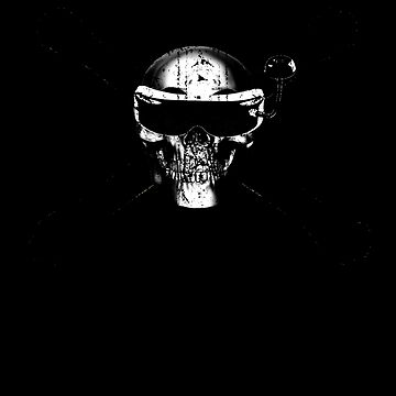 FPV Drone Quadcopter Skull Frame by Spooner427