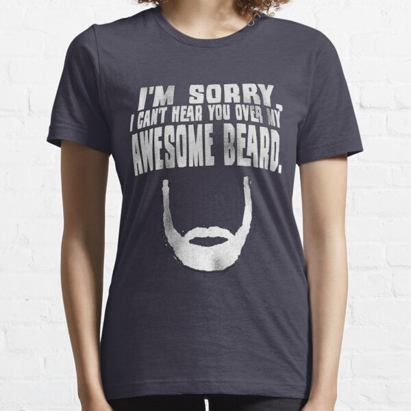 Awesome Beard Essential T-Shirt