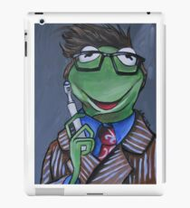 Kermit, Tenth Doctor iPad Case/Skin