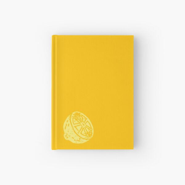 Little Lemon Hardcover Journal