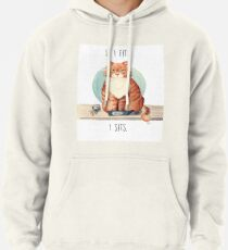 If I fits I sits Pullover Hoodie