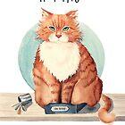 If I fits I sits by Sarah  Mac Illustration