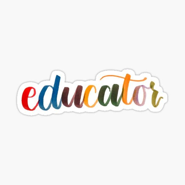 Educator Sticker