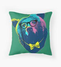Pop Art I (Papa Bear) Throw Pillow