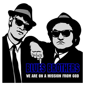 THE BLUES BROTHERS by 123art