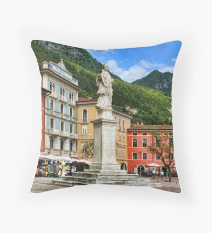 Riva Del Garda, Lake Garda, Italy Throw Pillow
