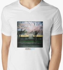 Holga Blossom Mens V-Neck T-Shirt