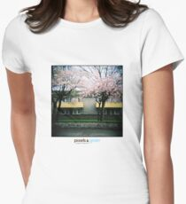 Holga Blossom Womens Fitted T-Shirt