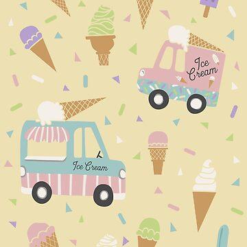 Ice Scream You Scream for Ice Cream by latheandquill