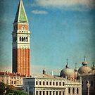St Mark's Campanile, Venice by Amanda White