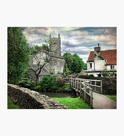Nunney, Somerset Photographic Print
