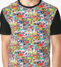 World flags 1 Graphic T-Shirt