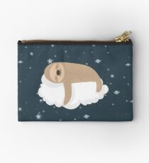 Sleep All The Time Sloth Zipper Pouch