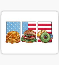 American Food Sticker