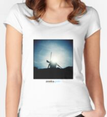 Holga Windmill Women's Fitted Scoop T-Shirt