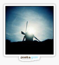 Holga Windmill Sticker