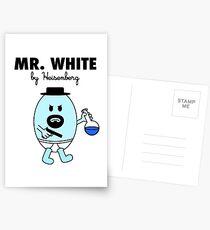 Mr White Postcards