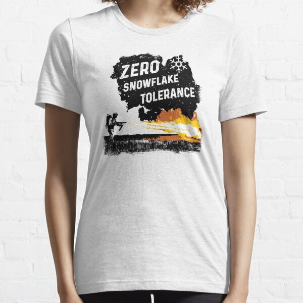 Anti Schneeflocke Null Toleranz Essential T-Shirt