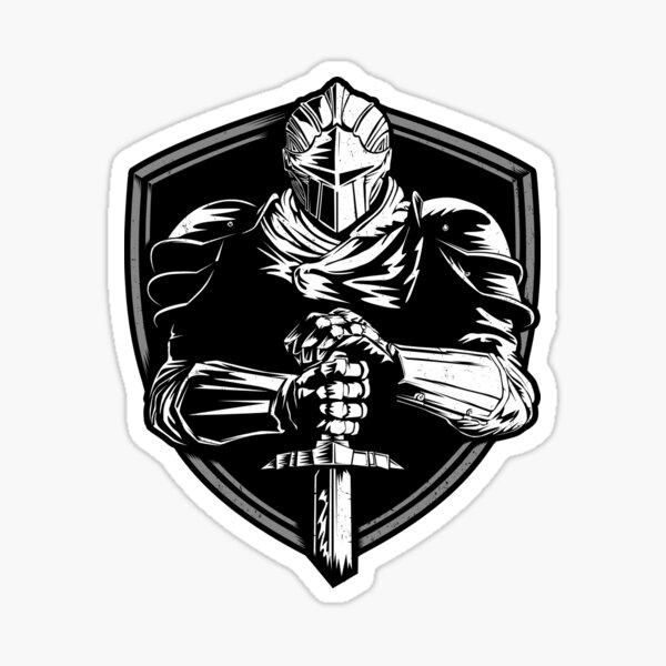 Knight Warrior Sticker