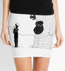 The Inevitable June Yeti Mini Skirt