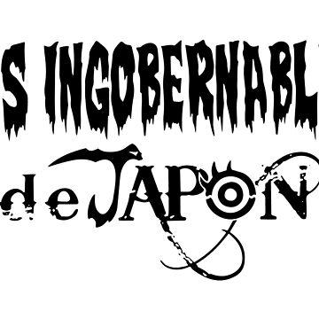 Los Ingobernables de Japon by solnoirstudios