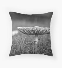 . m u s h y . Throw Pillow