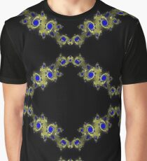 Gold and Sapphire Graphic T-Shirt