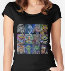 Mahna Mahna Doctor Women's Fitted Scoop T-Shirt