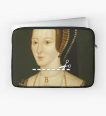 Cut Here - Anne Boleyn Laptop Sleeve