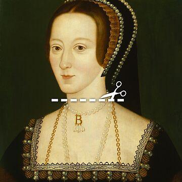 Cut Here - Anne Boleyn by KatieBuggDesign