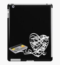 Cassette Love Dark iPad Case/Skin
