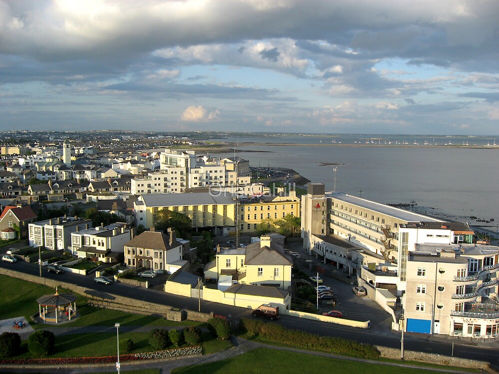 Salthill on Galway Bay by Orla Cahill