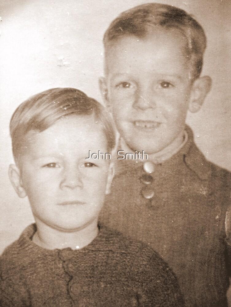 """ Two little Boys."" by John  Smith"