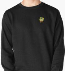 Smiling Spongebob Pullover Sweatshirt