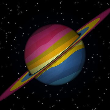 Pansexual Planet by LiveLoudGraphic