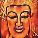 Orange Buddha by DesJardins