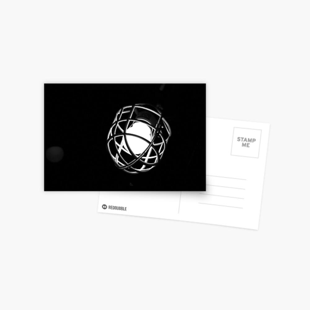 Erschossen im Dunkeln Postkarte