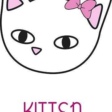 Kitten girl w by MeowMusic