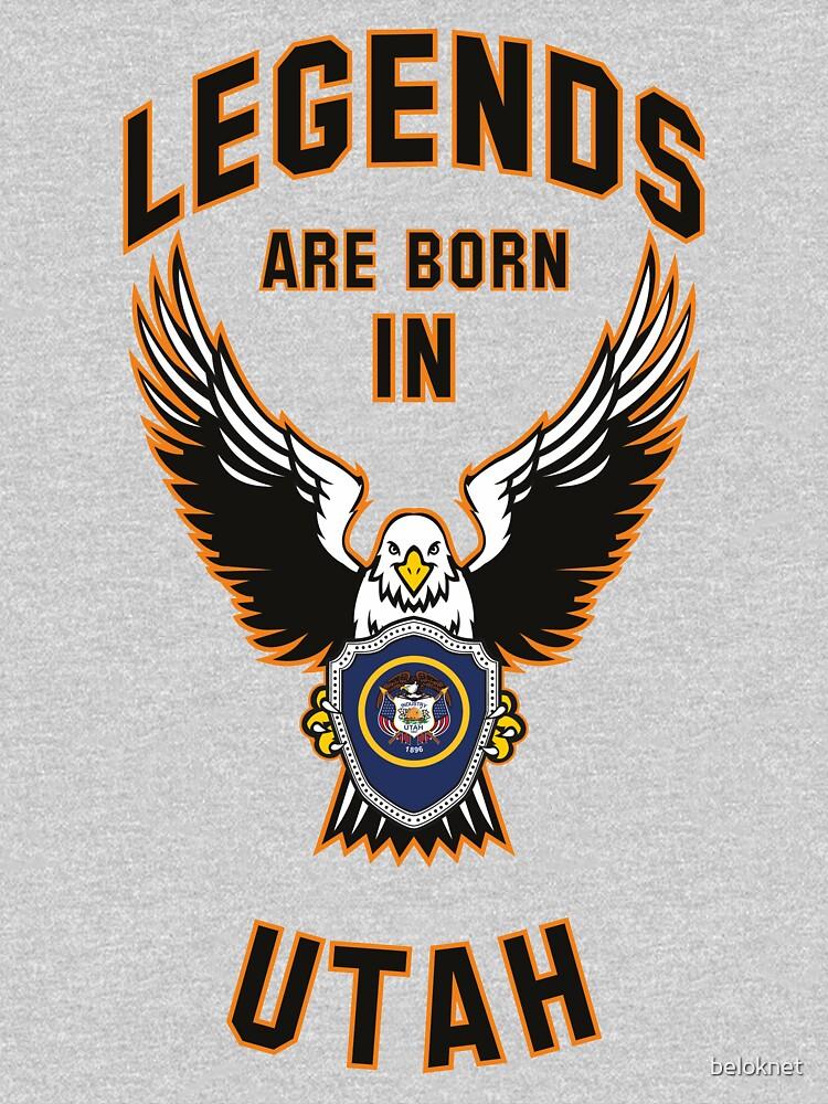 Legends are born in Utah by beloknet