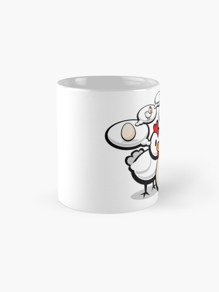 Alternate view of Eggnigma Mug