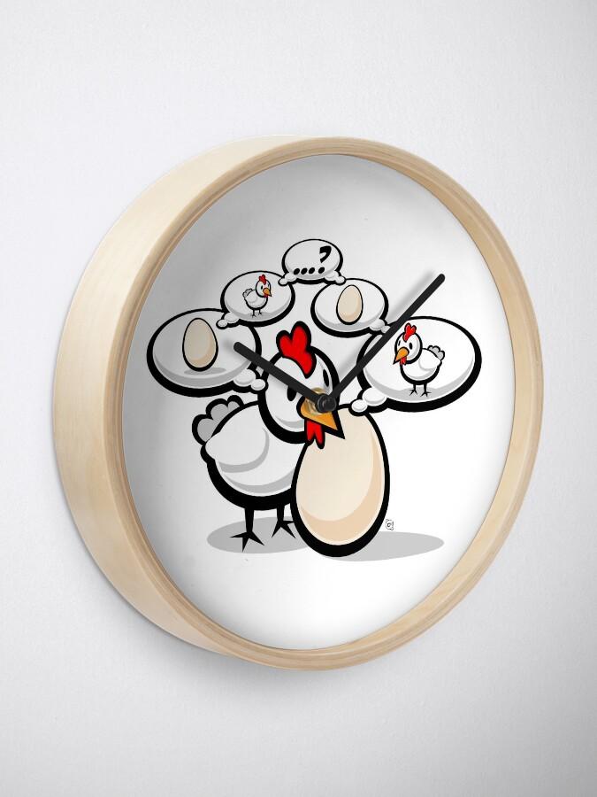 Alternate view of Eggnigma Clock