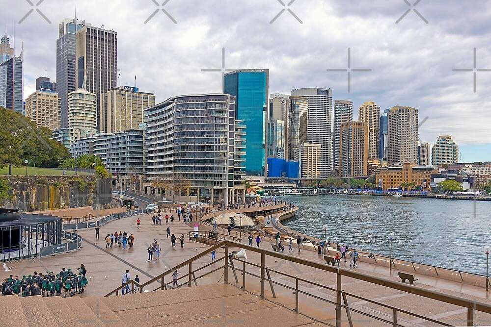 Circular Quay, Sydney, New South Wales, Australia by Elaine Teague