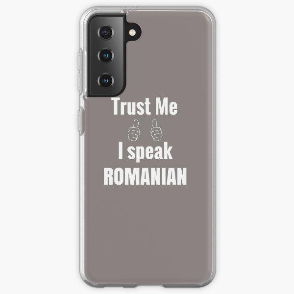 Funny Romanian Shirt Gift For Men Women Samsung Galaxy Soft Case
