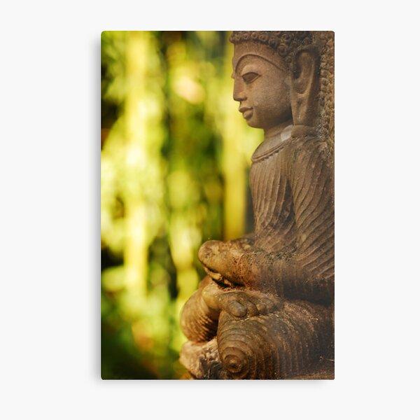 Nature Buddha Metal Print