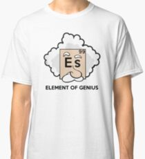 Funny Science T Shirt Gift-Element of Genius for Women Men Classic T-Shirt
