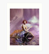 SOPHIE - OIL OF EVERY PEARL's UN-INSIDES Art Print