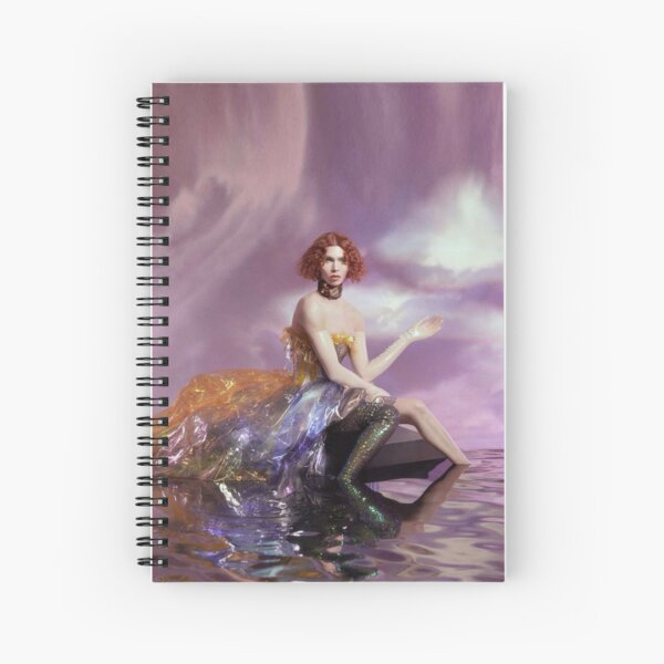 SOPHIE - OIL OF EVERY PEARL's UN-INSIDES Spiral Notebook