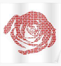 Póster Jugo WRLD - Todas las chicas son la misma rosa