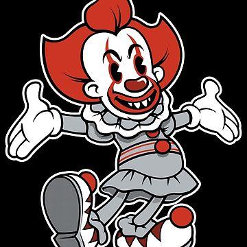 Hiya Georgie! Vintage Modern Evil Clown by Nemons